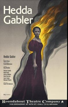Hedda Gabler.Roundabout Theatre Company. 1994