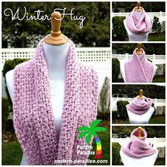 free crochet pattern - winter hug