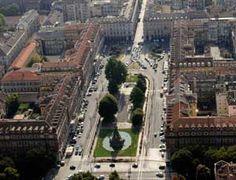 Piazza Statuto vista aerea-Torino- Piemonte