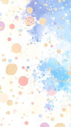 Phone Wallpapers HD Watercolor Gold - by BonTon TV - Free Backgrounds wallpapers (iPhone, smartphone) Here you Painting Wallpaper, Pastel Wallpaper, Cute Wallpaper Backgrounds, Wallpaper Iphone Cute, Cute Wallpapers, Watercolor Wallpaper Iphone, Iphone Wallpapers Girly, Phone Backgrounds, Cute Galaxy Wallpaper