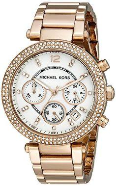 Micheal Kors Damen-Armbanduhr Analog Quarz Edelstahl MK5491 - http://uhr.haus/michael-kors/micheal-kors-damen-armbanduhr-analog-quarz