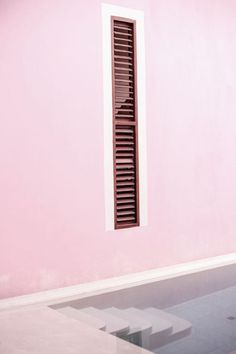 Pepto walls. @thecoveteur