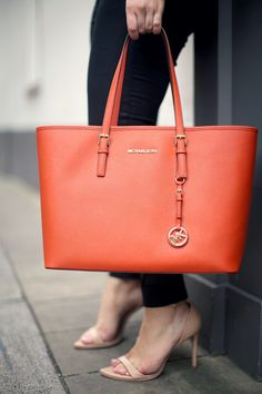 Michael Kors jetset tote for the office