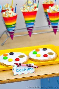 Art Party Dessert Ideas