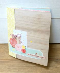 kit fiche n° 162: Mini album Vacances, par Noussa