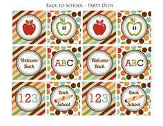 Free Back to School Printables - Pretty My Party