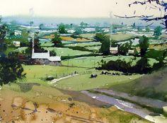 Tim Wilmot Watercolours: August 2013