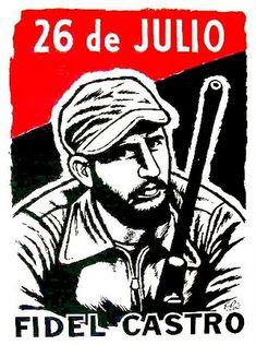El Movimiento 26 de Julio (M-26-7) fue una organización política y militar cubana creada informalmente en 1953 por un grupo liderado por Fidel Castro que atacó los cuarteles del ejército en Santiago de Cuba con el fin de derrocar al dictador Fulgencio Batista.