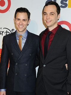 Jim Parsons Husband | big bang theory s jim parson s opened up about his boyfriend todd ...