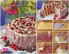 Csodásan néz ki, de nem igényel az elkészítése semmivel se többet, mint egy hagyományos tortáé. A tészta rugalmas, nem törik meg a hajlítá...