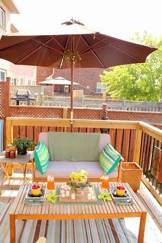 Backyard Patio small spaces