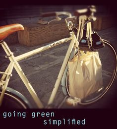 going green, simplified