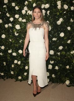 The greatest looks of 2013 │ My best dressed list. Jessica Biel at MoMA Film Benefit 2013 in honor of Tilda Swinton, wearing Chanel.