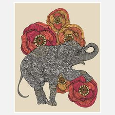 This print by Valentina Ramos is so playful and the details are unreal!