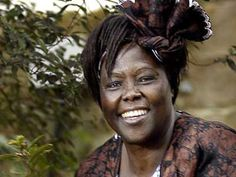 Wangari Maathi (1940-2011). First African woman to win Nobel Peace Prize. Excellent documentary about her work called Taking Root.