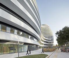 Galaxy Soho / Zaha Hadid Architects by Hufton + Crow,© Hufton + Crow