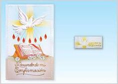 Resultado de imagen para invitaciones para confirmacion catolica gratis