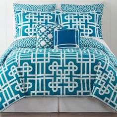 Happy Chic by Jonathan Adler Samantha Reversible Comforter Set & Accessories - JCPenney