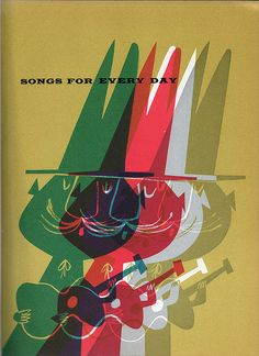 Abelard Folk Song Book: Songs for Every Day by Abner Graboff: 1958