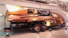 """Vintage Hydroplane """"Miss SuperTest III"""""""