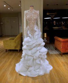 """Beautiful dresses by Valdrin Sahiti"" Black Girl Prom Dresses, Glam Dresses, Event Dresses, Fashion Dresses, Stunning Dresses, Beautiful Gowns, Prom Outfits, Best Wedding Dresses, Dream Dress"