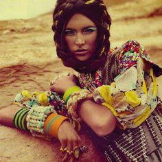 For more ethnic fashion inspirations and tribal style visit www.wandering-threads.com