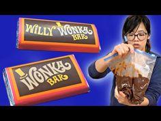 How to Make a WONKA Bar - 50-year old Willy Wonka Chocolate Making Kit - YouTube Wonka Chocolate, Chocolate Party, Chocolate Making, Chocolate Factory, How To Make Chocolate, Holiday Candy, Christmas Candy, 50 Years Old, Year Old