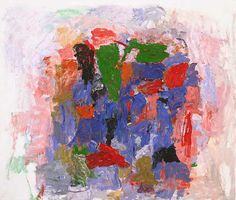 PHILIP GUSTON Native's Return, 1957 Oil on canvas 64 7/8 x 75 7/8 in.