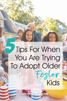 5 Tips For When You Are Trying To Adopt Older Foster Kids. About 7 years ago my husband and I decided to adopt foster children (well really just one) through the foster care system. The process took Open Adoption, Foster Care Adoption, Foster To Adopt, Foster Kids, How To Adopt, Adopting Older Children, Adopting A Child, Raising Kids, Adopted Children