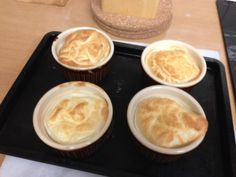 Slimming world Lemon Meringue Puddings