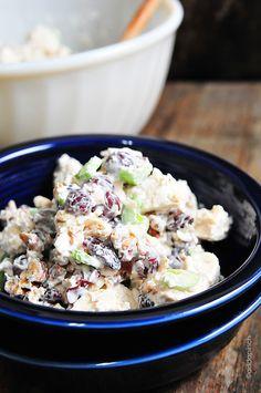 Chicken Salad Recipe | addapinch.com