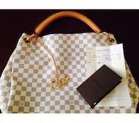 21e8b0c5a6a7 Used Authentic100% louis vuitton artsy mm damier azur handbag in  Jacksonville - letgo  Louisvuittonhandbags