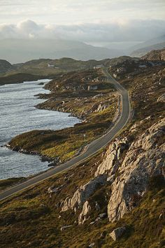 The Golden Road; Isle of Harris, Outer Hebrides, Scotland