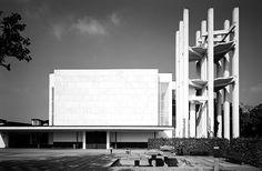 Design is fine. History is mine. — Alvar Aalto, Stephanus Community Centre, church...
