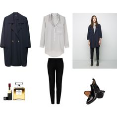 A fashion look from October 2014 featuring Helmut Lang blouses, Steven Alan coats and STELLA McCARTNEY pants. Browse and shop related looks.