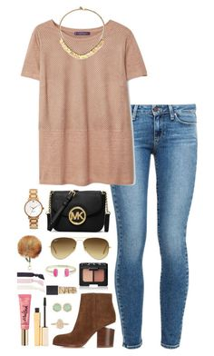 """""""comment below some of your favorite accounts on polyvore atm!! i'm looking for some new people !"""" by thatprepsterlibby ❤ liked on Polyvore featuring Paige Denim, Violeta by Mango, Kendra Scott, Too Faced Cosmetics, Alexander Wang, Ray-Ban, Stila, MICHAEL Michael Kors, Tory Burch and Kate Spade"""