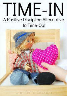 Looking for a positive alternative to Time-Out? Look no further!  Read all about Time-In and how you can use it effectively to discipline your child or students while maintaining respect and dignity for everyone. {One Time Through} #parenting