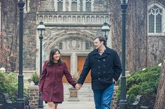 A Lehigh University Engagement Session by Smile Peace Love Photography #GretaSaysIDoud