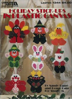 Patterns include Valentine's Day Love Bug, St. Patrick's Day Leprechaun, Easter…