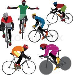 велосипедист рисунок: 20 тыс изображений найдено в Яндекс.Картинках