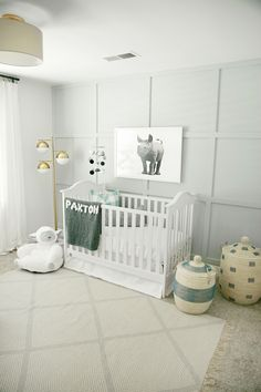 Dark Grey Carpet Nursery
