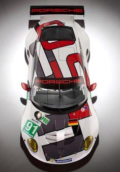 Porsche 911 RSR 2013 Le Mans WEC GTE, Porsche 50 year anniversary edition