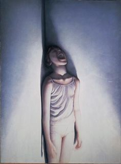 Helnwein Child: Gottfried Helnwein, Gottfried Helnwein, The Song I, 1981, 160 cm x 116 cm, watercolor on cardboard