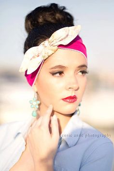 Loving this Retro Headband from CristaBelasBoutique! #hair #style #fashion