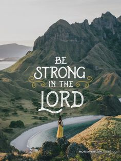 Be strong in the Lord Ephesians 6:10-16 #30DaysOfBibleLettering