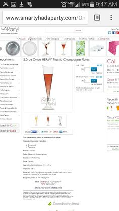 Flutes for champagne toasts. Set with table