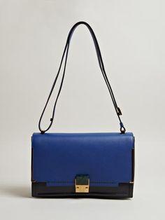 Lanvin Women's Grained Calfskin Small Bag Partition