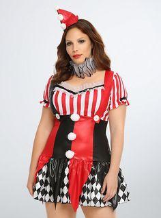 Harlequin Clown Costume Dress,