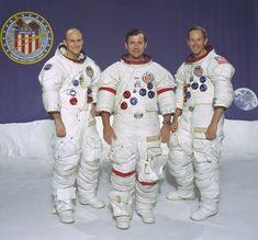 Apollo 16 crew #science #space #astronaut
