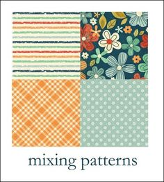 How to Mix Patterns for a Scrapbook Layout